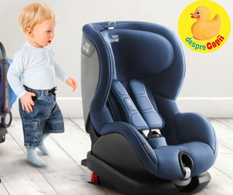 Cele mai sigure scaune de masina pentru bebelusi - conform standardelor europene de siguranta
