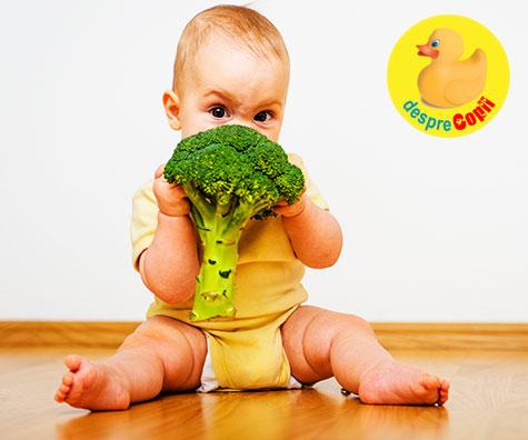 Introducerea legumelor in alimentatia bebelusului