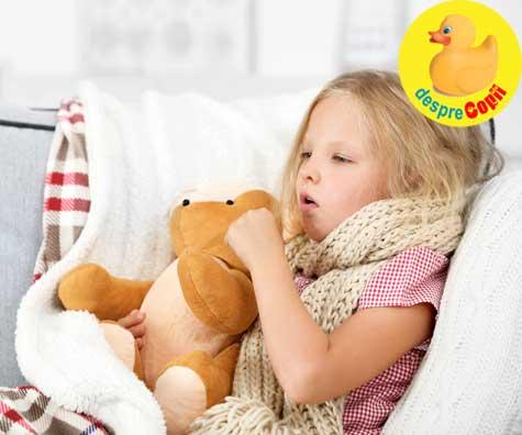 Copilul tău tușește? Alege Naturalis BronhoSuport 7 plante, fără zahăr