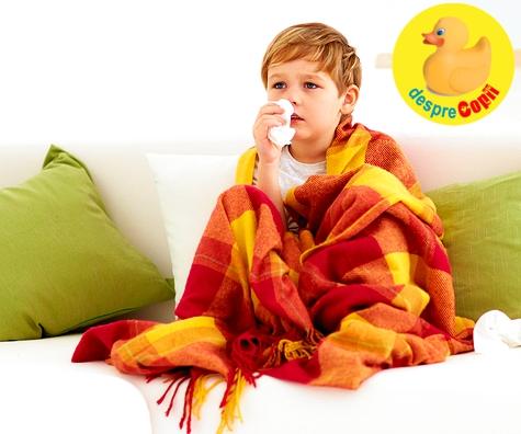 Bronsiolita la copil