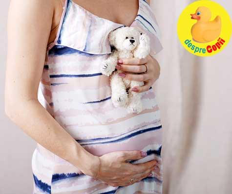 Sarcina confirmata - de la extaz la agonie si inapoi la extaz - jurnal de sarcina