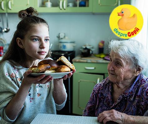Bunicii care rasfata copilul cu mancare nesanatoasa - cum procedam?
