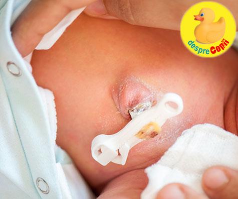 5 sfaturi despre cum trebuie ingrijit buricul bebelusului