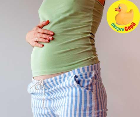 Inceput de burtica la 17 saptamani - jurnal de sarcina