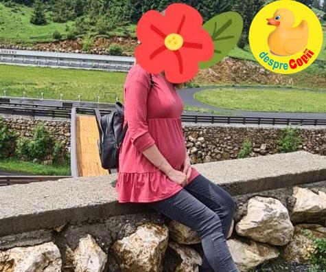 Cu burtica la munte in saptamana 29 si o cistita surpriza - jurnal de sarcina