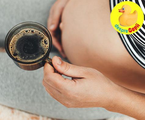 Cafeaua in timpul sarcinii: cat e ok si cat e prea mult