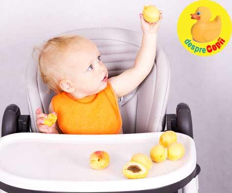 Caisele in alimentatia bebelusului: cum si cand le introducem?