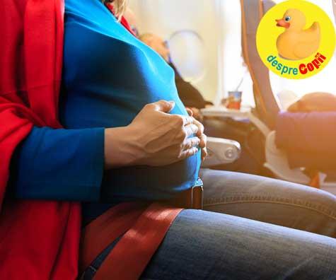 Calatorie cu burtica si mici peripetii - jurnal de sarcina