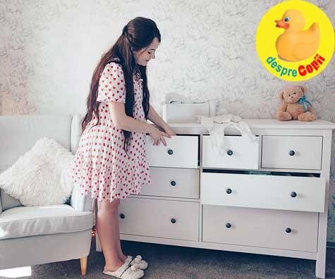 Saptamana 37: bagajul de maternitate este facut, patutul a fost si el montat ieri - jurnal de sarcina