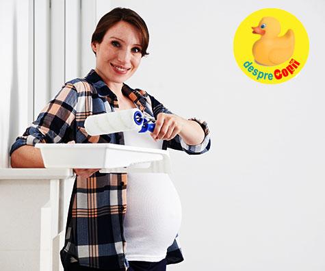 Idei si inspiratie pentru camera bebelusului