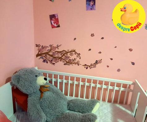 Saptamana 23: pregatim camera lui bebe - jurnal de sarcina