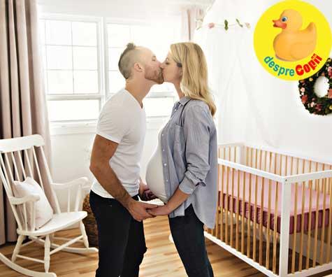Camera pentru venirea lui bebe este gata - jurnal de sarcina