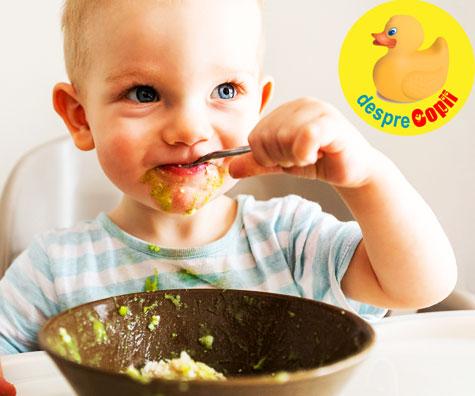 Cartof dulce cu avocado si galbenus - reteta pentru bebelusi