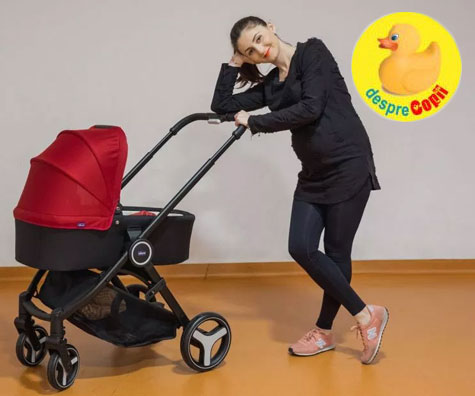 Caruciorul Chicco Trio Best Friend, un ajutor de nadejde pentru fiecare mama (video)