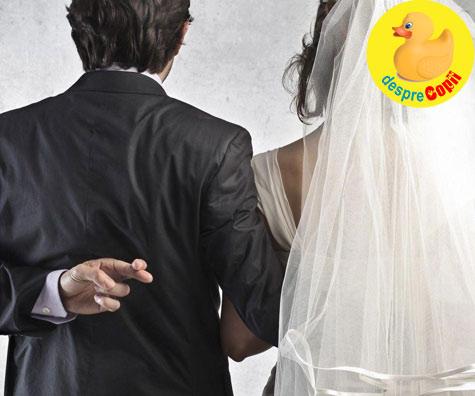 Casnicia mea a fost o minciuna? - Sau primul lucru care iti trece prin cap cand intelegi ca ai iubit in zadar