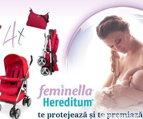 Castiga un carucior cu Feminella Hereditum® si Desprecopii.com