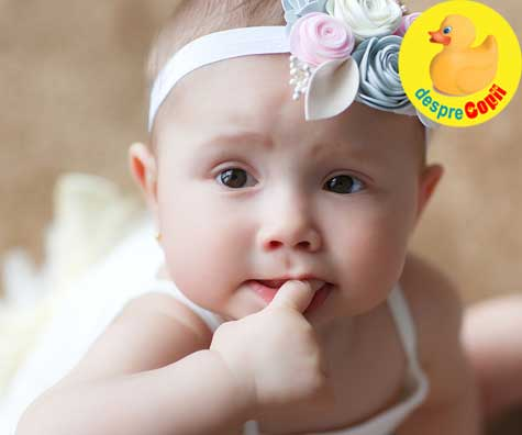 Cat mananca bebelusul de 5 luni? - diagrama