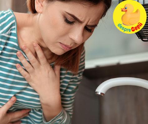 Greturile il protejeaza pe bebe din burtica - acesta este motivul si rolul greturilor in timpul sarcinii