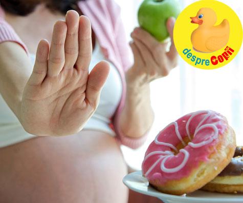 Ce este bine sa mananci pe parcursul sarcinii si ce nu?