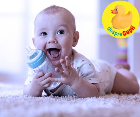 Nu da apa si ceai bebelusului pana la 6 luni - iata de ce
