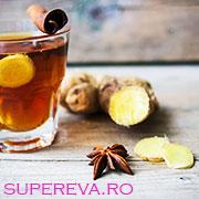Ceaiul iernii: ghimbir, anason si scortisoara