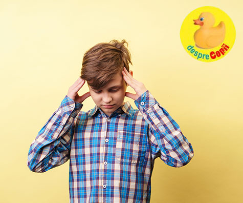 Tipuri de durere de cap mai puțin frecvente la copii