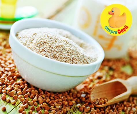 Introducerea cerealelor in alimentatia bebelusului: cand, cum si ce fel de variante