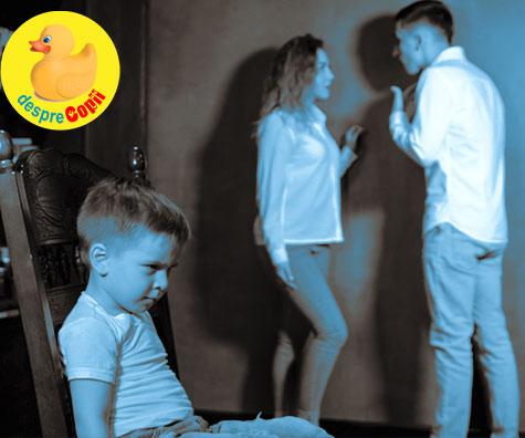 Ce e mai bine pentru un copil? Parinti care se cearta mereu sau divortati?