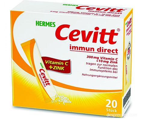 Un duo important pentru imunitate: Vitamina C + Zinc