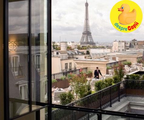 O nastere la Paris: o cezariana, o zgripturoaica si o fetita un pic grabita