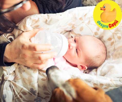 Greselile mamicilor dupa cezariana: Renuntarea la alaptarea bebelusului