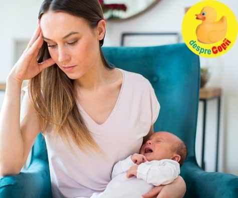 Greselile mamicilor dupa cezariana: invinuirea neintentionata a copilului