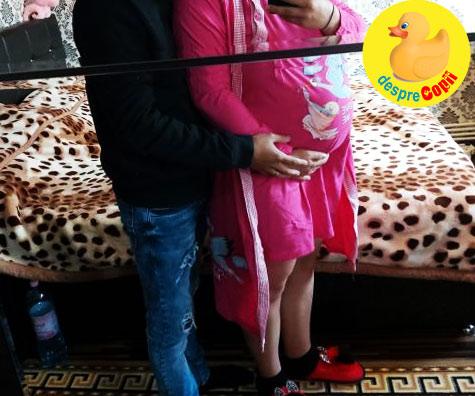 Chistul bebelusului din burtica se retrage - jurnal de sarcina