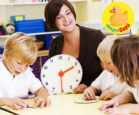 Cand si cum invata copilul sa citeasca ceasul?