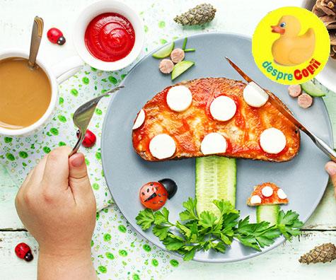 Ciupercile in alimentatia copilului: de la ce varsta si in ce fel