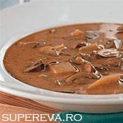 Supa crema de ciuperci (ungureasca)