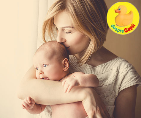 Legatura dintre colicii bebelusului alaptat si alimentatia mamicii
