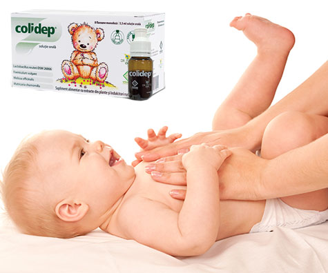 COLIDEP - scapa bebelusii de colici