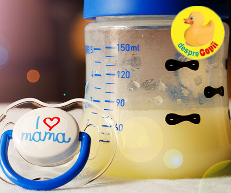 Colostru sau aurul lichid. 5 lucruri uimitoare despre prima masa a bebelusului