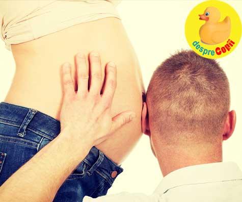Nu am stiut ca poti interactiona cu bebe din burtica - jurnal de sarcina