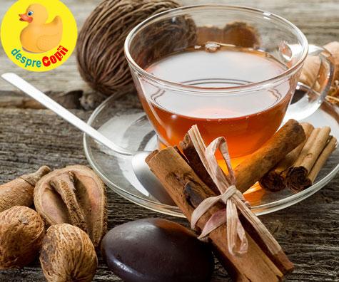 Condimentele şi ceaiul - un ajutor ideal la cura de slabire