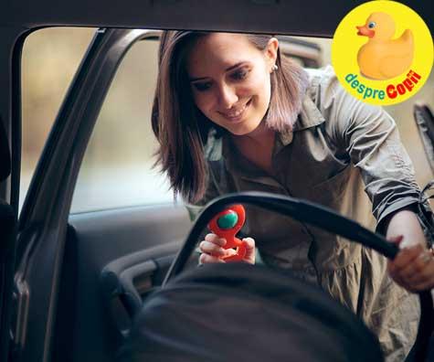 Greselile mamicilor dupa cezariana: se urca prea repede la volan