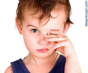 Conjunctivita la copil