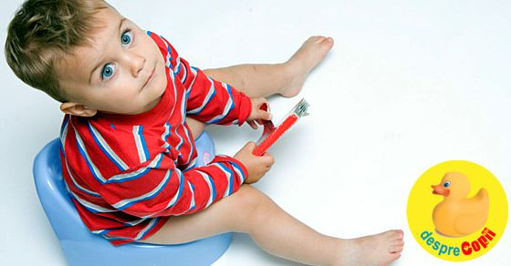 Cand copilul este constipat: 7 sfaturi utile