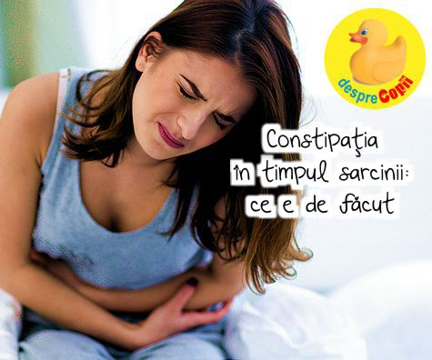 Constipatia in sarcina