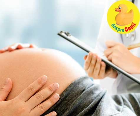 Ultimul consult de sarcina, cel preanestezic - jurnal de sarcina