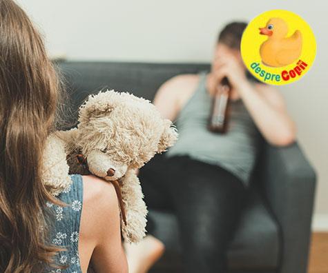 De ce parintii trebuie sa evite consumul de alcool in fata copiilor