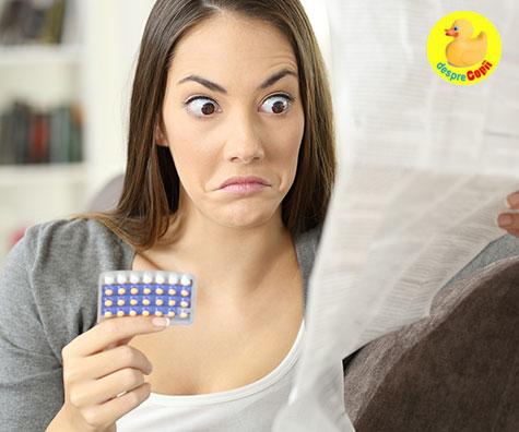 Cat de riscante sunt pastilele contraceptive?