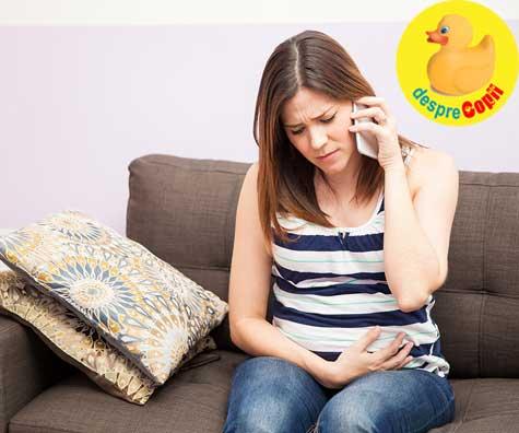 Contractii false prea devreme: am ajus la spital - jurnal de sarcina