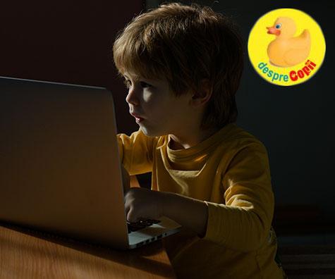 Somnul copiilor este perturbat de folosirea telefoanelor si tabletelor